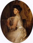 mrs. adolph hirsh by john singer sargent painting