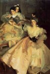 mrs. carl meyer and her children by john singer sargent painting