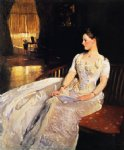 mrs. cecil wade by john singer sargent painting