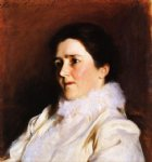 mrs. charles fairchild by john singer sargent painting