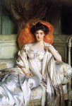 mrs. huth jackson clara annabel caroline grant duff by john singer sargent painting