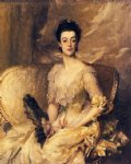 mrs. thomas wodehouse legh by john singer sargent paintings-30634