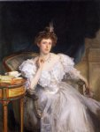 mrs. william george raphael margherita goldsmid by john singer sargent painting