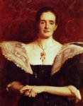 mrs. william russell cooke by john singer sargent painting
