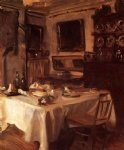 my dining room by john singer sargent painting