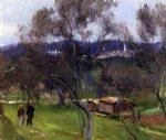 olive trees corfu by john singer sargent painting