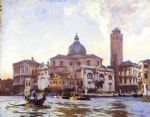 palazzo labia and san geremia venice by john singer sargent painting