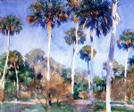 palms by john singer sargent painting