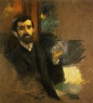 paul helleu by john singer sargent painting