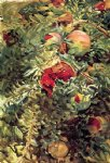 pomegranates by john singer sargent painting