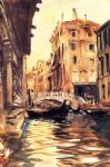 ponte della canonica by john singer sargent painting