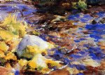reflection by john singer sargent painting