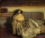 repose by john singer sargent painting