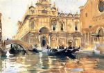 john singer sargent rio dei mendicanti paintings