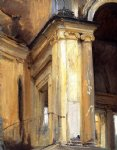 roman architecture by john singer sargent painting