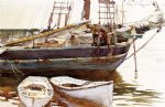 schooner catherine somesville maine by john singer sargent painting