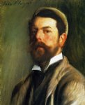 self portrait ii by john singer sargent painting