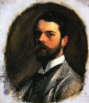 portrait paintings - self portrait by john singer sargent