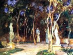 shady paths by john singer sargent painting