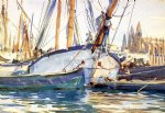 shipping majorca by john singer sargent painting