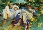 siesta by john singer sargent painting