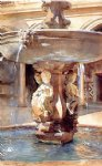 john singer sargent spanish fountain ii painting