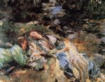 the brook by john singer sargent painting