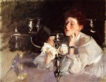 the candelabrum by john singer sargent painting