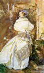 the cashmere shawl by john singer sargent painting