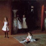 the daughters of edward darley boit by john singer sargent painting