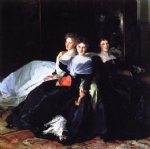 the misses hunter by john singer sargent painting