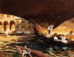 the rialto ii by john singer sargent painting