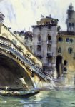 the rialto venice by john singer sargent painting