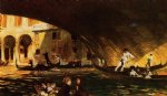 the rialto by john singer sargent painting