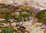 the simplon ii by john singer sargent painting
