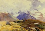 the simplon by john singer sargent painting