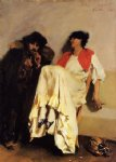 john singer sargent the sulphur match paintings