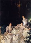the wyndham sisters by john singer sargent painting