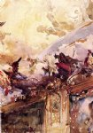 tiepolo ceiling milan by john singer sargent paintings-30927