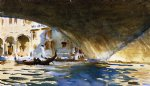 under the rialto bridge ii by john singer sargent painting
