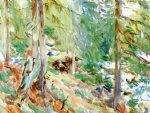 val d aosta purtud by john singer sargent paintings-30915