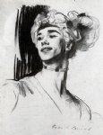 vaslav nijinsky in le pavillon d armide by john singer sargent paintings