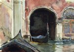 venetian canal ii by john singer sargent painting