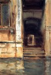 venetian doorway by john singer sargent painting