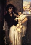 venetian onion seller by john singer sargent painting