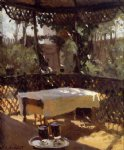 wineglass by john singer sargent painting