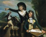 john singleton copley charles callis western and his brother shirley western painting-30093