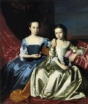 john singleton copley mary and elizabeth royall painting