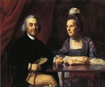 john singleton copley mr. and mrs. isaac winslow jemina debuke painting