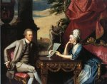 john singleton copley mr. and mrs. ralph izard alice delancey prints